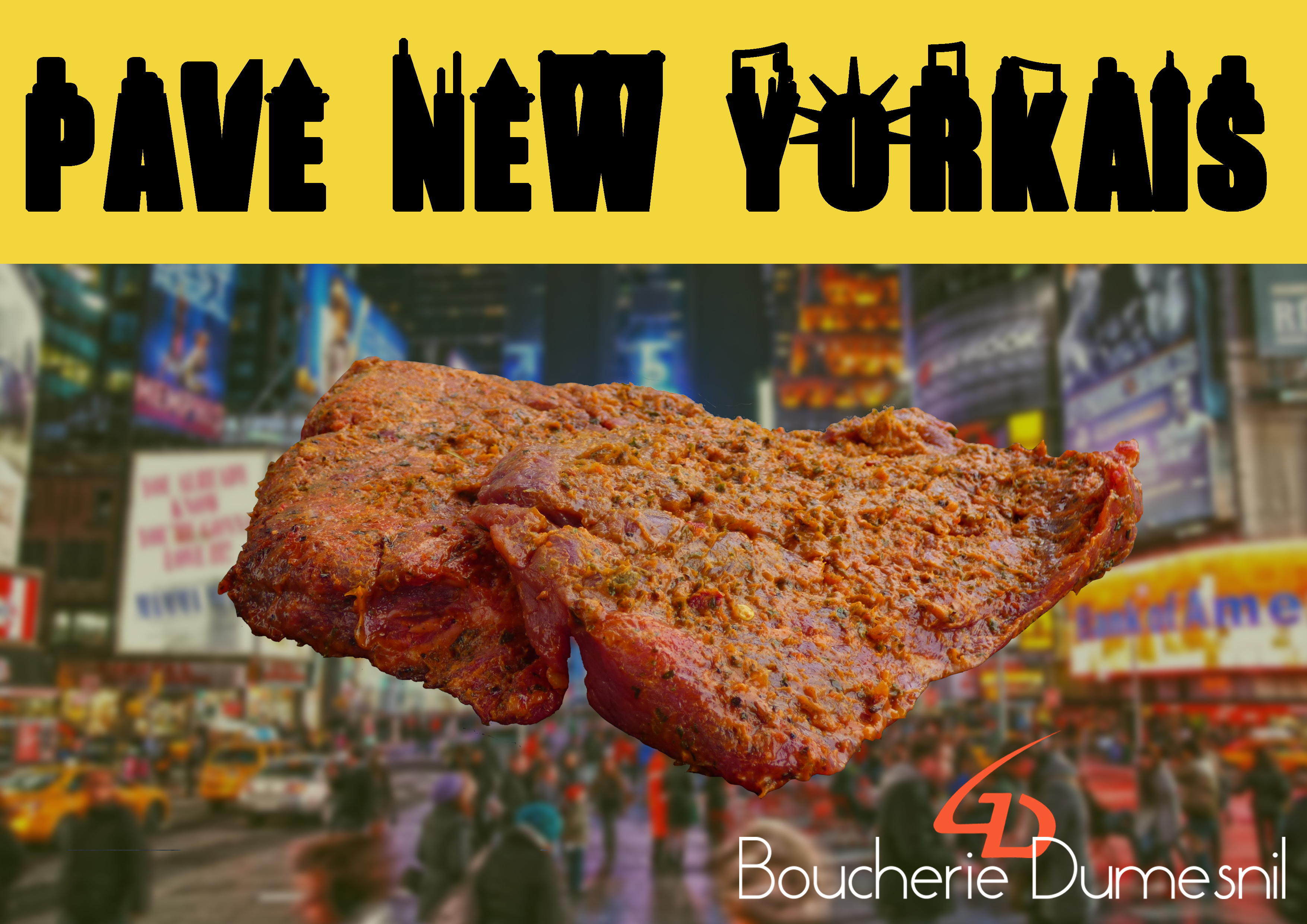 PAVE NEW YORKAIS
